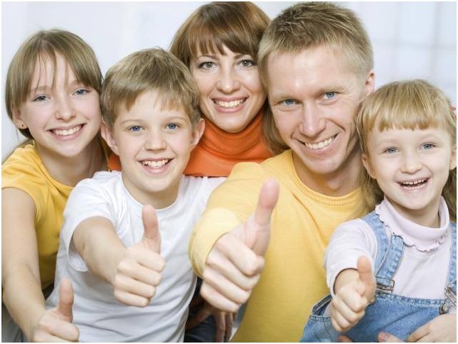 семейное русское фото